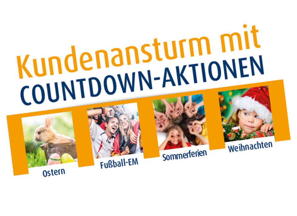 Countdown Aktionen Apotheke | weihnachten ostern sommer