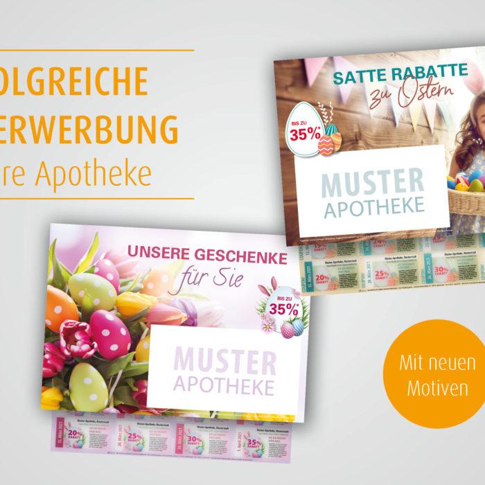 Ei, Ei, Ei – frühlingsfrische Osterwerbung für Ihre Apotheke!